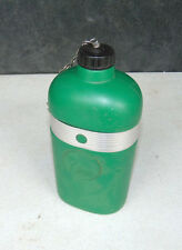 "Vintage Water Canteen Bottle OASIS Kwencher Made in USA 8.5"" Tall Retro Hiker"