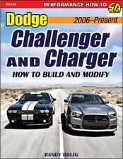 Dodge Challenger & Charger: How to Build and Modify 2006-Present book~Magnum~NEW