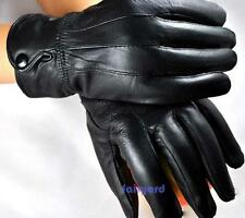 Hot Winter Real Sheepskin Leather Gloves Fur Cape Glove Women Bike Motor Cycling