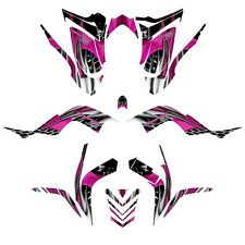 Yamaha Raptor 700 graphics 2006 - 2012 full coverage decal kit NO4444 hot pink