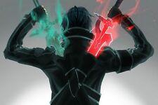 "Sword Art Online Posters Anime Silk Wall Poster 24x36"" Bedroom Decor SAO"