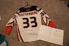 Anaheim Mighty Ducks Jakub Silfverberg Game Worn Meigray Jersey 58 Reebok Set 2