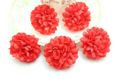 10pcs/Lot RED NEW Daisy Artificial Silk Flower Heads Wedding Floral Supplies