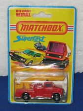 Matchbox 75 Superfast  No. 13 Snorkel Fire Engine Carded US Issue