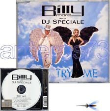 "BILLY MORE meets DJ SPECIALE ""TRY ME"" RARE CDM ITALO DANCE"