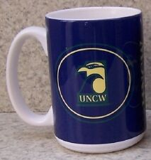 Coffee Mug NCAA North Carolina Wilmington Seahawks NEW 15 ounce cup w/ gift box