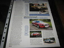 Cadillac Coupe Deville reg. HCM118N and Ford Mustang GT article