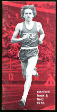 1976 Stanford Track Field Media Guide Ex Cond 1016