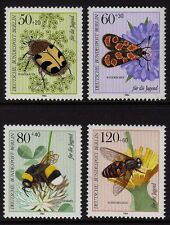 Germany Berlin 1984 Insects SG B674-B677 MNH