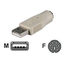 BELKIN PS/2 TASTATUR MAUS AN USB PORT KONVERTER ADAPTER GB