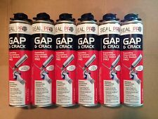 6 Cans of Seal Pro Gap & Crack Fireblock Expanding Polyurethane Foam Sealant