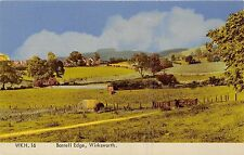 POSTCARD    DERBYSHIRE    WIRKSWORTH  Barrell  Edge