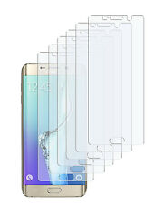 6 x Schutzfolie Samsung Galaxy S6 Edge Plus Klar Folie Displayschutzfolie Clear