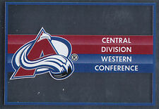16/17 PANINI NHL STICKER TEAM LOGO #303 COLORADO AVALANCHE *24931