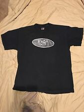 Vintage Korn Metal 1998 T Shirt Size XL First Amendment Statement Government
