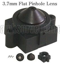 Wide Angle 90 Degree 3.7mm flat Pinhole Lens F2.0 For CCTV Camera