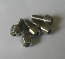 5x Titanium M8 x 16mm Cone Allen Socket Head Bolts Light Weight