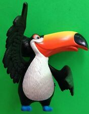2011 MCDONALD'S HAPPY MEAL TOY   #3 FROM 'RIO' RAFAEL MUSICAL TOUCAN WORKS GREAT