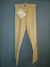 Ladies New Size 36-R Tan Tough 1 Comfort Riders Euro Style Riding Breeches