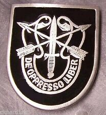 Military Belt Buckle pewter 1st First Special Forces NEW imported