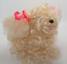 Vintage Hasbro Sweetie Pups Dog Puppy Toy Poodle Apricot Tan Cream