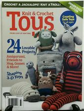 Knit & Crochet Toys 2017 24 Lovable Projects Shaping 3 D Toys FREE SHIPPING sb