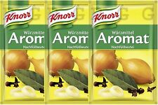 Knorr Germany - 3 x AROMAT - 3 x 100 g Refill Bag - German Product