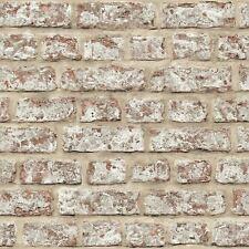 RUSTIC BRICK WALLPAPER - NATURAL - ARTHOUSE 889604 WALL