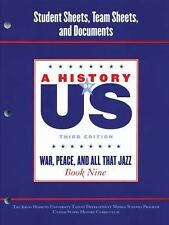 A History of US: Johns Hopkins University Student Workbook for Book 9 Hofus...