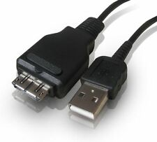 SONY USB CABLE VMC-MD2 CYBERSHOT DSC-W290 DIGITAL CAMERA ETC TRANSFER TO PC MAC