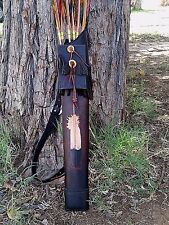 KRF Custom Archery Quivers / Handmade /  Traditional archery / Recurve /Longbow