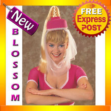 W171 Womens Adult I Dream Of Jeannie Genie Headpiece W/ Hair Costume Accessory