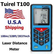 USA Ship Tuirel100m/328ft Laser Distance Meter Range Finder Measure Instrument