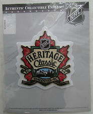 2014 NHL HERITAGE CLASSIC VANCOUVER CANUCKS HOCKEY JERSEY OFFICIAL PATCH EMBLEM