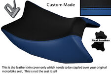 ROYAL BLUE & BLACK CUSTOM FITS DERBI GPR 125 50 SIDE EXHAUST 07-13 FRONT COVER