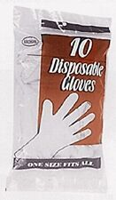 New Disposable Latex Gloves boss Gloves 0085 One Size Fits All White