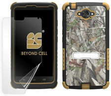 AUTUMN WOODS CAMO TRI-SHIELD CASE STAND FOR MOTOROLA DROID TURBO BALLISTIC NYLON