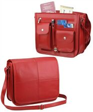 Real Leather Air Hostess Organizer Hand Bag