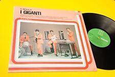 I GIGANTI LP IL MEGLIO ITALY 1982 NM !!!!!!!!!!!!!   TOOOOPPPPPPPP