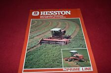 Hesston 8200 Self Propelled Windrower Dealer's Brochure YABE