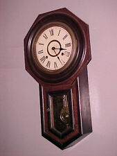 Octagon short drop regulator clock Seikosha C. 1900