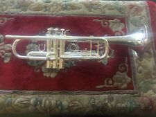 Harelton 0200123 HZTPT4SP Silver Plated Jazz Trumpet