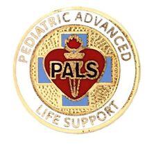 Pediatric Advanced Life Support Lapel Pin PALS Medical Emblem Graduation New