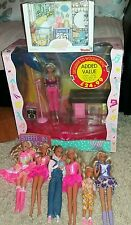 simba, steffi love job lot. fashion dolls. 1990's