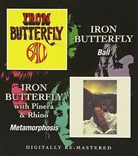 Ball/Metamorphosis - Iron Butterfly (2015, CD NIEUW)