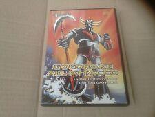 GOLDRAKE ALL'ATTACCO DVD EXPLOSION Usato QUASI OTTIMO RARO