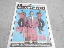 FEB 26 1994 MELODY MAKER music magazine CREDIT TO THE NATION