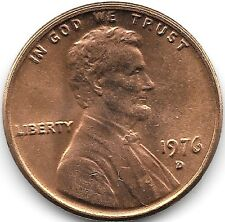 United States Unc 1976-D Lincoln Memorial Cent~Free Shipping