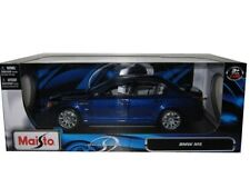 MAISTO BMW M5 Blue 1/18 DIECAST CAR 31144BL