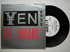 """YEN - Red Indians / Trigger, Index Records ND-1 Ex 7"""" Single"""